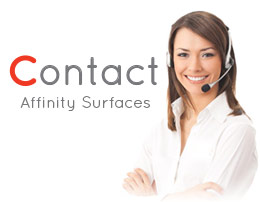Contact Affinity Surfaces